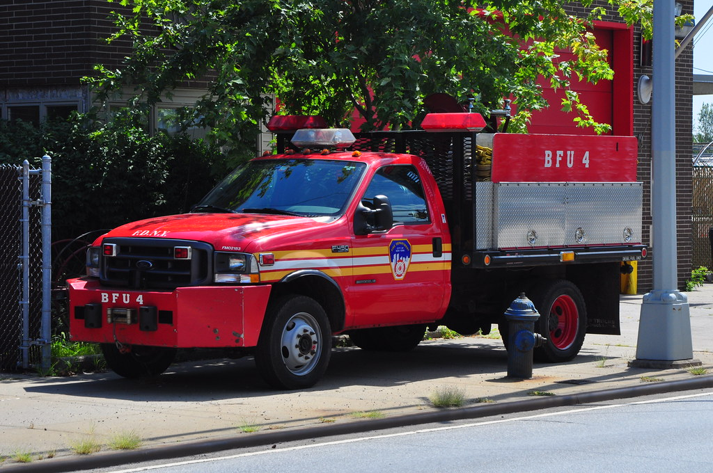 New Ford Truck >> FDNY Brush Fire Unit 4 | 2002 Ford/Hanratty/FDNY Shops FM021… | Flickr