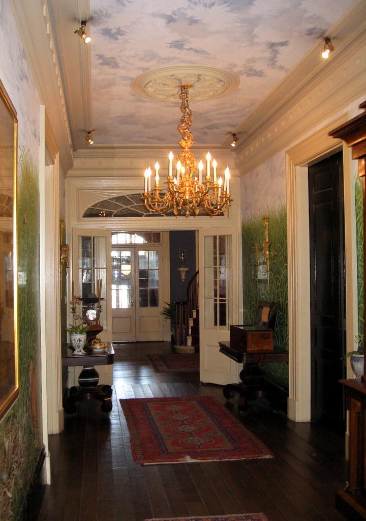 interiors photos houmas house plantation main house interior entrance