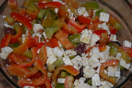 Insalata di peperoni e feta / Salad with sweet peppers and feta | by Luigi Rosa