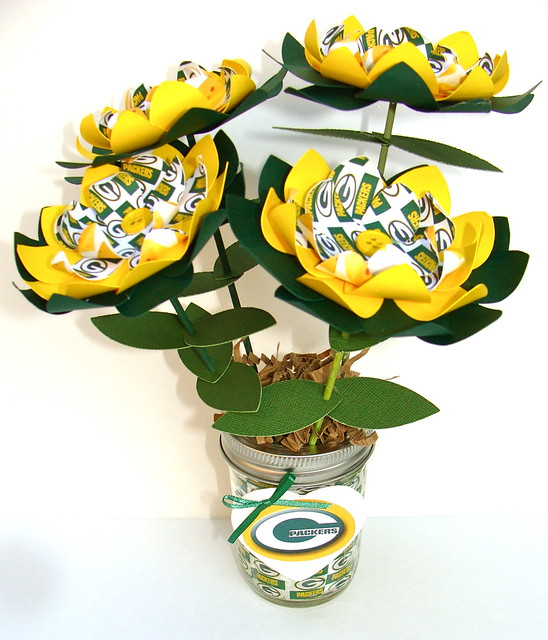 Green Bay Packers Paper Flower Bouquet Flickr Photo