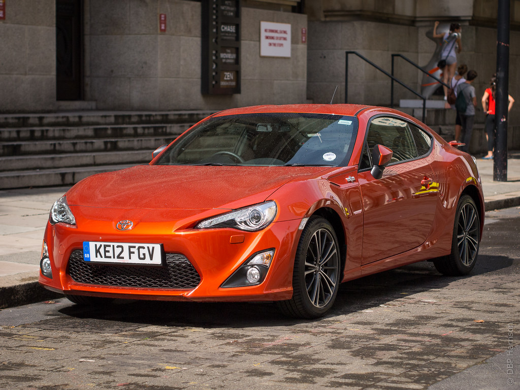 Orange Toyota Gt86 In London Orange Gt86 Seen In London