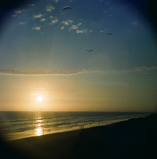 ADOX August 2012 - Roll 2 - Sunset at the Huntington Cliffs | by Ms. Jen
