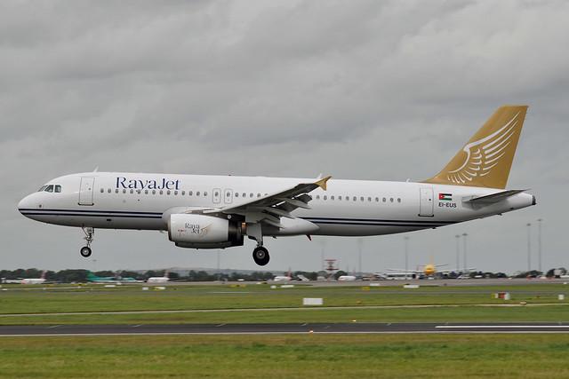 EI-EUS A320-232  RayaJet