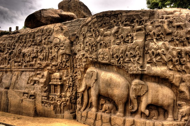 Mahabalipuram stone carvings img