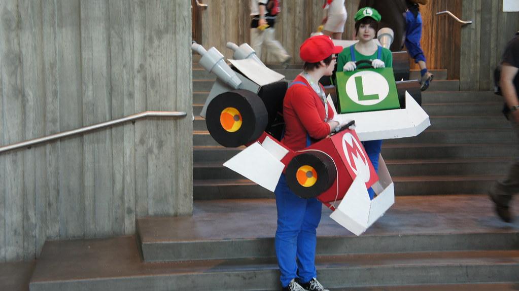 Mario Kart Cosplay at Sakura-Con 2012 | Aranami | Flickr