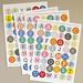 De eerste stickertjes zijn geprint voor 'Kort maar prachtig'