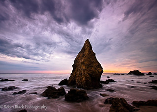 Moody El Matador (Sunset, Malibu) | by Robin Black Photography