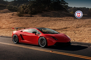 Nokturnal - Lamborghini Gallardo Super Trofeo Stradale with HRE C109 in Satin Black | by HRE Wheels