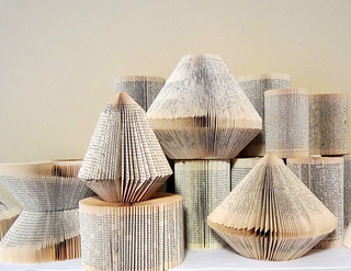 Folded Book Sculptures | by all things paper