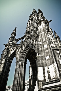 Scott Monument. | by SFD (professional loungist)