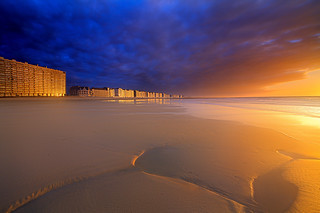 Sunset over Ostend | by Reza-Sina