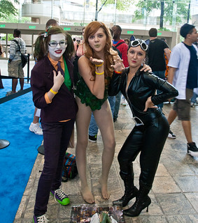 Joker, Poison Ivy, and Catwoman | by DJOtaku