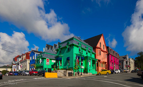 Colorful Lunenburg Street | by melepix