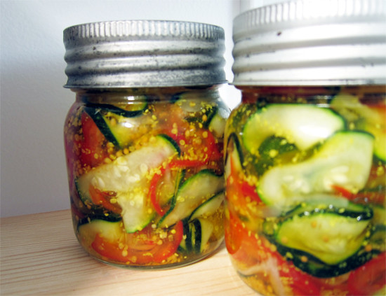 zucchini pickles, cafe zuni style | Flickr - Photo Sharing!