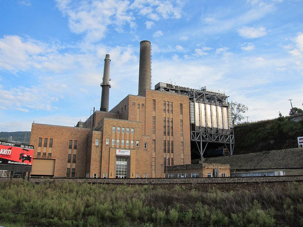 Aep Power Plant Soon To Be Closed Glen Lyn Va Todd