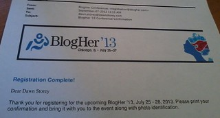 BlogHer '13 | by alphabetsalad