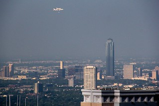 Space Shuttle over Houston Galleria | by J-a-x
