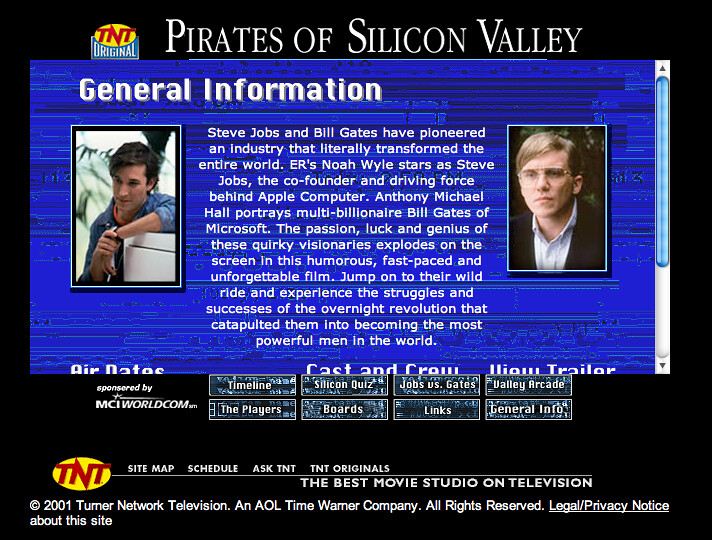 "reflection pirates of the silicon valley Reaction paper ""pirates of the silicon valley"" when announced that  we're going to watch a movie about computer evolution, i was like oh no for."