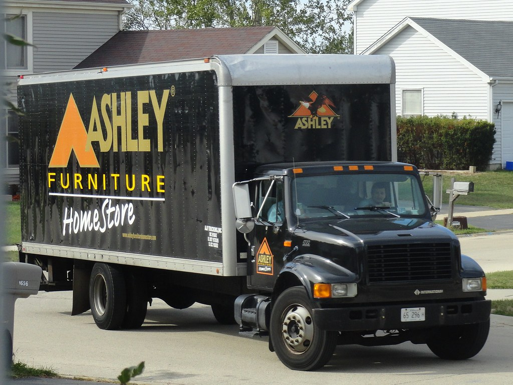Ashley furniture homestore international 4700 delivery tru for Furniture delivery