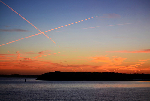 X Marks The Sunset - Explored 9/21/2012 | by Jayhawk Explorer