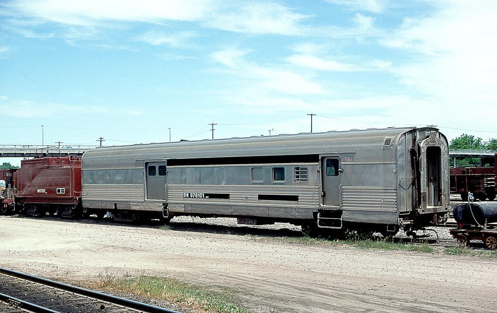 Bn Mwt 976101 Burlington Northern Railroad 976101 At