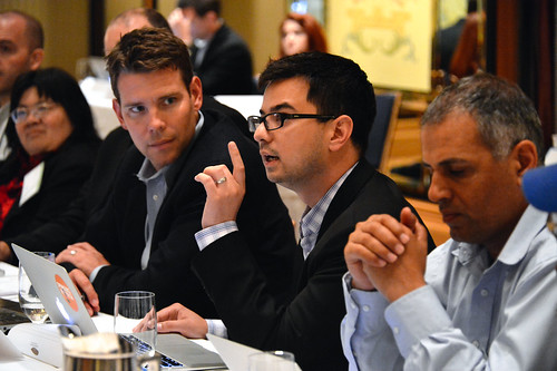 The Future of Cloud Computing Think Tank, hosted by Dell & VMWare | by Dell's Official Flickr Page