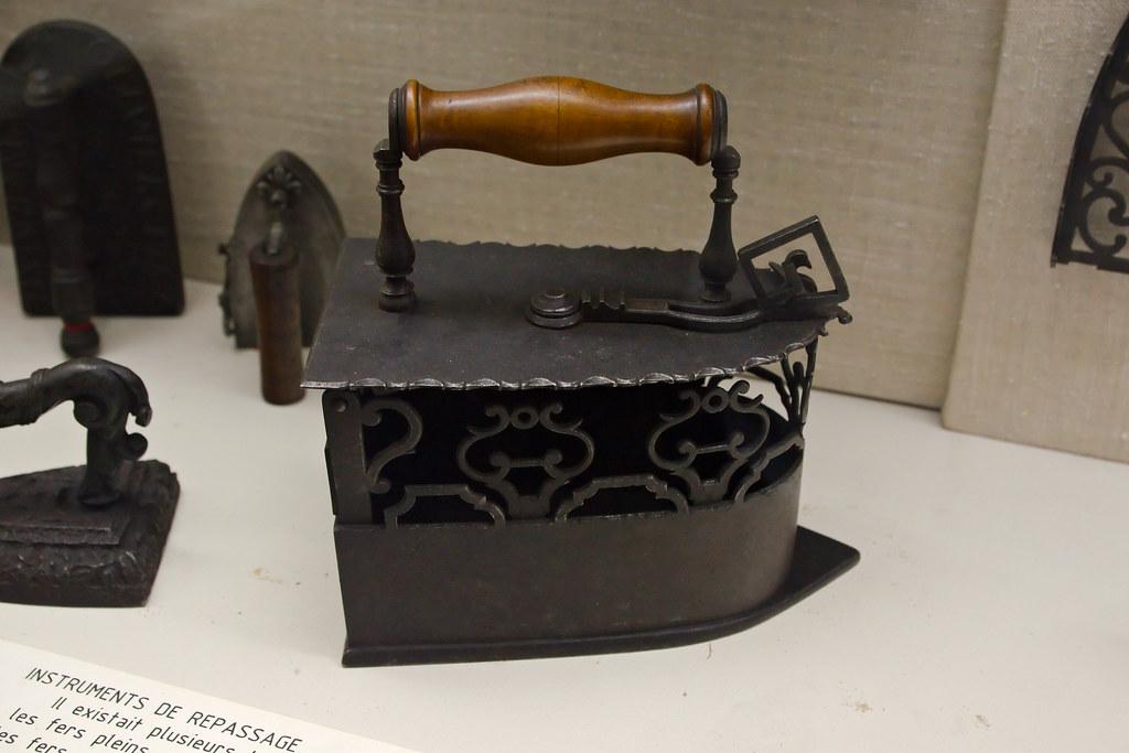 Le mus e du fer repasser mus e longwy - Evolution du fer a repasser ...