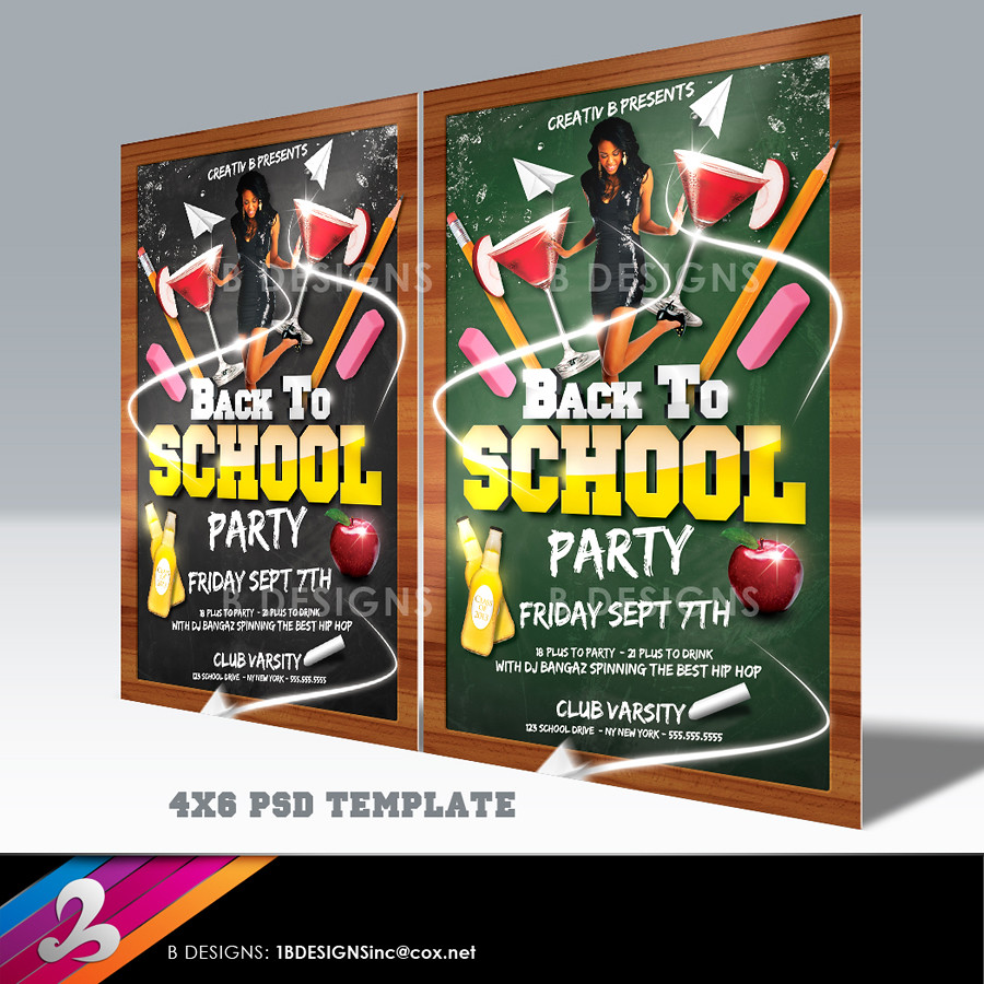 Back To School Flyer Template | DOWNLOAD FULLY LAYERED PSD F… | Flickr
