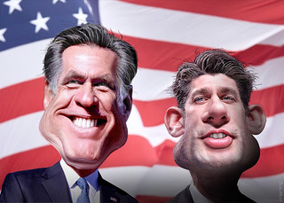 Romney Ryan 2012 | by DonkeyHotey