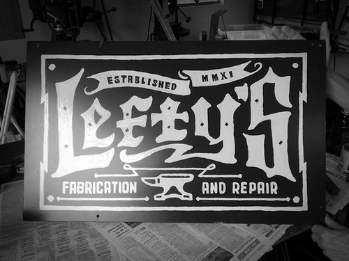 Lefty's Fabrication and Repair | by halftonedefstudios