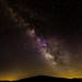 Milky Way over Brasstown Bald GA