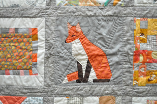 Paper Pieced Fox by Katrina | by the workroom