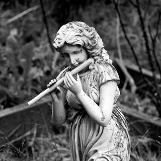 Lonely Piper [Monochrome]