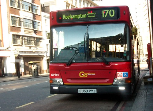 London General LDP201 on route 170 Victoria 18/08/12. | by Ledlon89