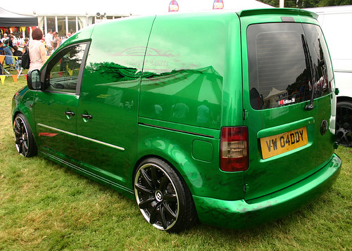 Vw Caddy Bentley Wheels Shaun Garfin Flickr