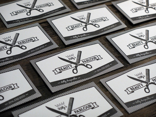 Letterpress Business Cards | by MikeGalore