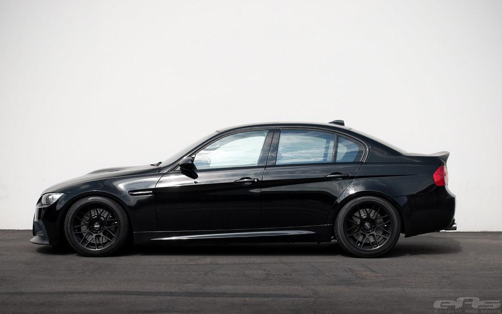 Black Vorsteiner E90 M3 w/ APEX ARC-8 Wheels (8-22-12 ...