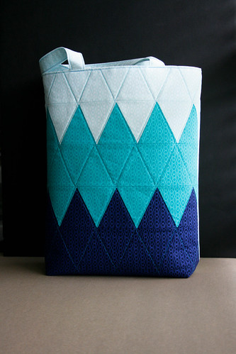Yeti Iceberg Ombre Tote Bag | by TheCraftJunky