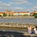 Prague : View from Kampa island