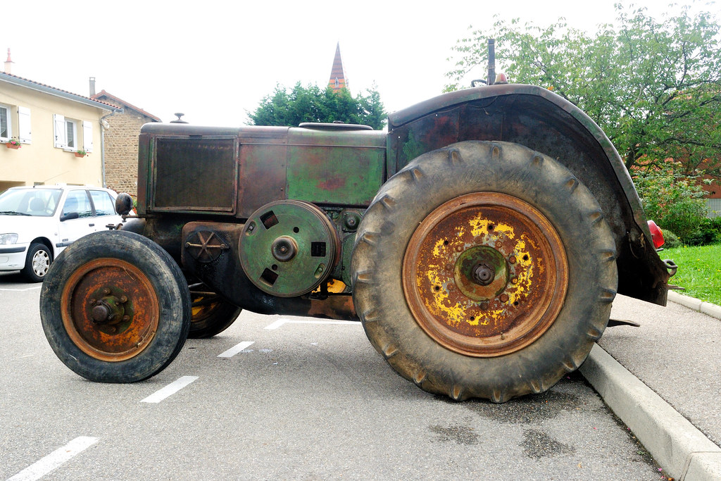 tracteur sfv type 401  france  1950