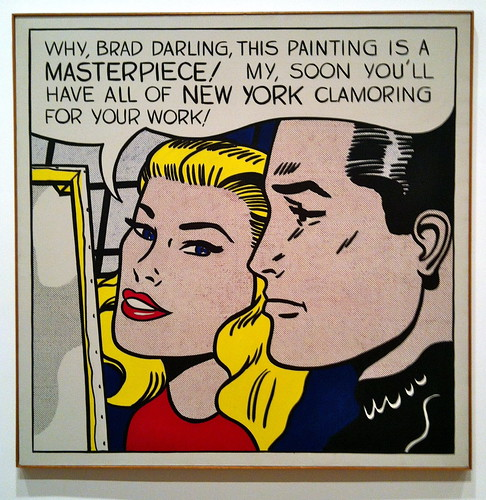 Masterpiece, Roy Lichtenstein, 1962 | by thingsworthdescribing