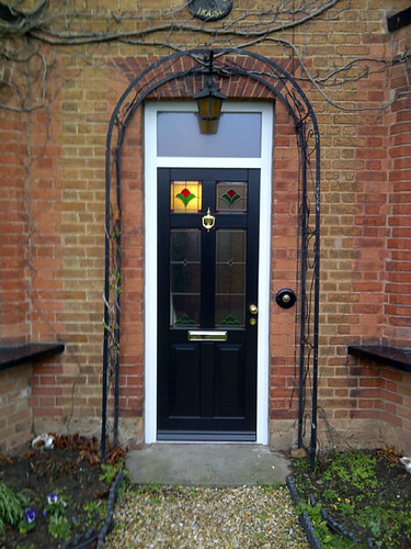 Black wooden front door black wooden front door for Black wooden front door
