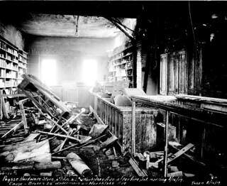 Paysse Hardware Store after fire, 1919 | by Seattle Municipal Archives