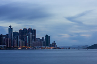 Magic time at West Kowloon Waterfront Promenade with Long Exposure | by {Jack}