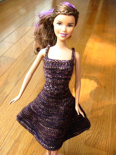 knitted Barbie dress | by quirky granola girl