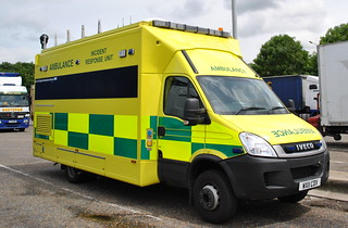 East of England Ambulance Service / Iveco Daily / Hazardous Area Response Team / Incident Response Unit / 903 / WX11 CDV | by Chris' 999 Pics