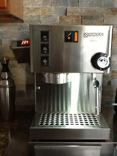 Rancilio Silvia. I updated the steam wand to V3 and added a PID for boiler temp control. | by Coffee-dude