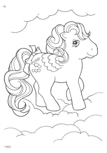 My Little Pony G1 Coloring Pages : My little pony g coloring pages flickr photo sharing