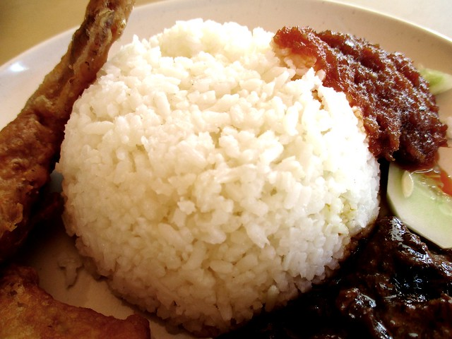 Fast Cafe nasi lemak special, the rice
