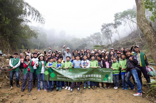 【星夢想.生態復育計畫】邁入第二年,預計在2016年底前種下4,000棵台灣原生樹種